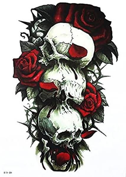 tatouage tete de mort sur la main signification