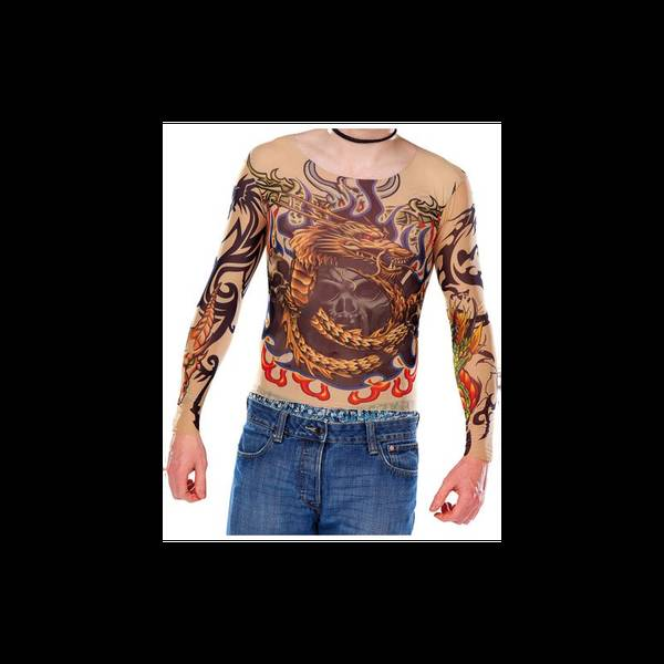 Découvrir T-Shirt Manches Tatoo : Tatouage tete de mort mexicaine homme spécial enfants 5 ans